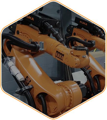 Bespoke Applications - CNC Robotics