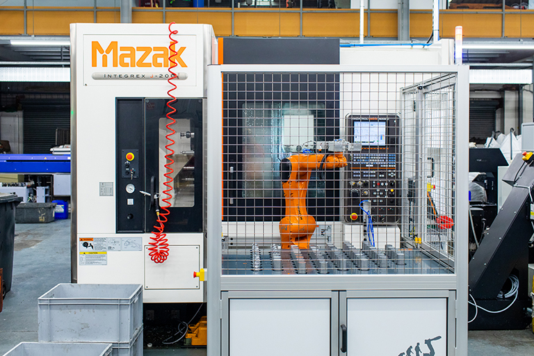 CNC Robotics - Machine-tending robot